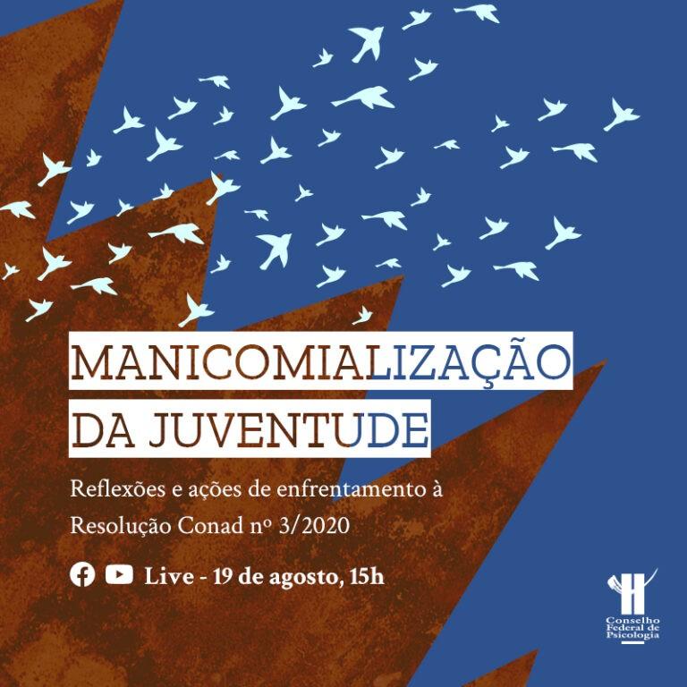 FONTE: CFP debate Manicomialização da Juventude