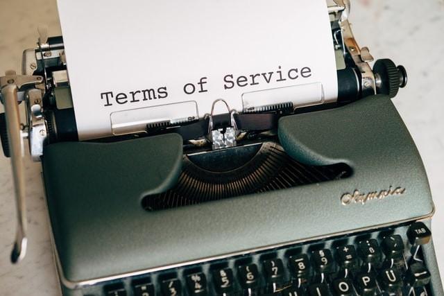 Alteração dos Termos de Utilização